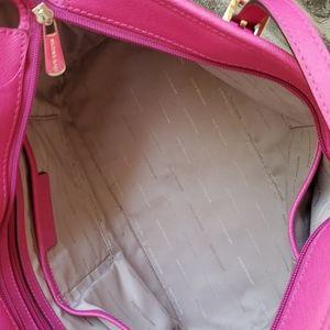 Michael Kors Bags - Michael Kors Jet Set  Zinnia Hot Pink Large Tote